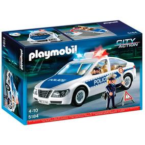 Playmobil 5184 Coche Policia Con Luces Original Intek