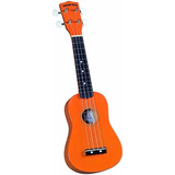 Soprano Ukulele - Orange Diamond Head (incluye La Funda)