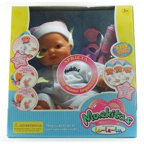 Muekitas La Le Lu Bebé Bebote Para Nenas Expresiones Reales