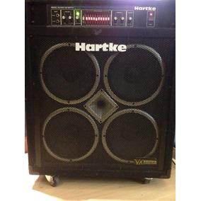 Amplificador Caixa Hartke Ha3500 Vx 4x10