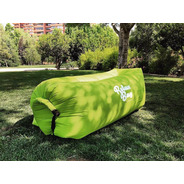 Sofa Inflable Relax Bag Pillow Pro 300t Nylon Lime Green