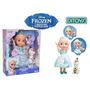 Frozen Elsa Glowing Vestido Mágico Habla Y Canta Tuni 1844