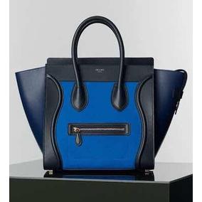 eead8bb2cec5a Bolsa Celine Imitacion - Bolsas Azul en Mercado Libre México