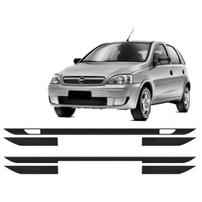 Friso Protetor De Parachoque Corsa Hatch Ou Sedan G2 02 A 12