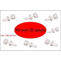 Grampo Papelão Da Porta -silverado/blazer 20 Peças