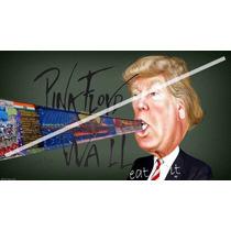 Caricatura Poster Muro De Donald 50 X 90 Cm Papel Glossy