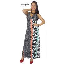 Vestido Casuales Largo Maxi Vestidos Blusas Trendy Clic Vcl