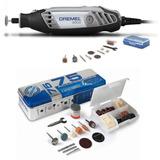 Retífica Dremel 3000 C/ 10 Acessórios + Kit 75 Acess. 110v