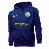 Blusa Moletom Manchester City Futebol Homens Masculi