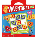 Peaceful Kingdom Valentine Tic Tac Toe 28 Tarjeta Super Vale