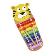Metalófono De Juguete Para Niño Niña, Diseño Tigre