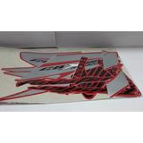 Kit Calcos Honda Cbx 250 Twister Blanca Negra Y Roja