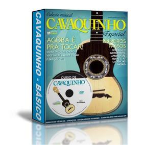 Curso De Cavaquinho Passo A Passo Vídeo 4dvds + Brinde Af03