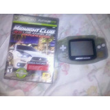 Game Boy Advance + Midnight Club Los Angeles Platinum.