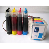 Tinta Continua Impresoras Hp K550 K5400 K8600 Cartucho Hp 88