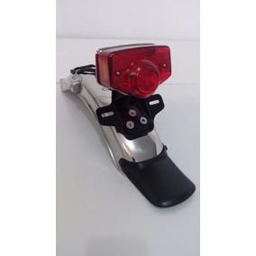 Paralama Traseiro + Lanterna Cg 125 Bolinha Ml 82 Bico Pato