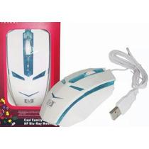 Mouse Gamer Marca Hp Y Sony Grande Optico Usb Con Luces Pc