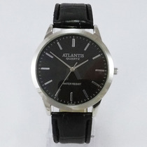 Relógio Masculino Social Atlantis Original A Prova D