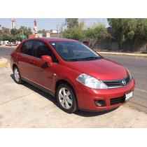 Nissan Tiida 2010 4p Sedan Emotion 6vel A/a Ee Cd B/a