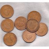 Moneda Antigua Cobre Cuauhtemoc 1956 Cincuenta Centavos C5