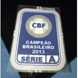 Patch Cruzeiro Campeao Brasileiro 2013 Azul Original Lextra