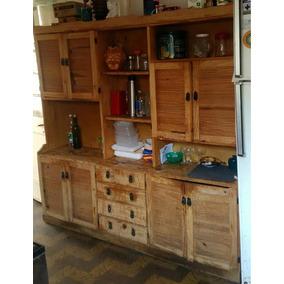 Alacena Vintage Ideal Para Reciclar Muebles De Cocina En - Muebles-de-cocina-reciclados