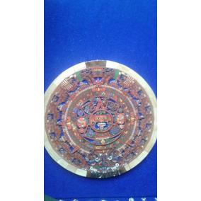 Calendario Azteca De Madera