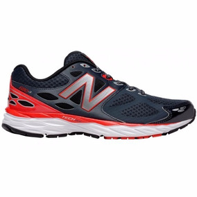Tenis New Balance Running M680lb3 Grey Red / Correr