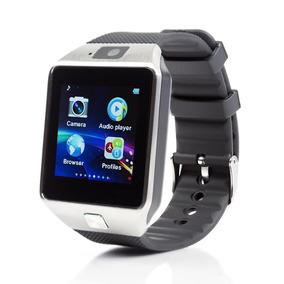 Relogio Bluetooth Smartwatch Dz09 Touch Preto
