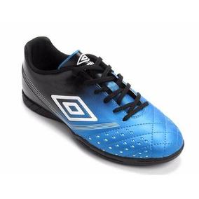 334c4f3c56 Chuteira Umbro Valor Id Futsal Branca Com Azul Oficial Adultos ...
