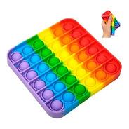 Pop It Multicolor Original Importado Anti Estrés Silicona