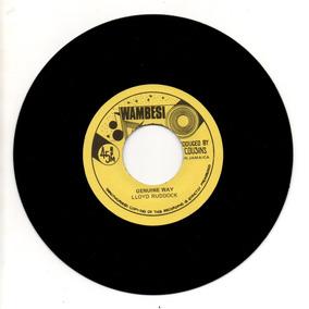 Lloyd Ruddock - Genuine Way - Reggae 7
