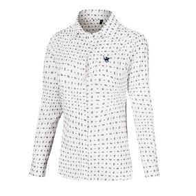 Camisa Polo Club Ypcd001 Blanco Marino Pv