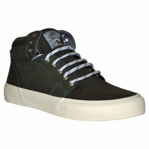 Zapatillas Rusty Value Hi Army Green Unisex Rz002005