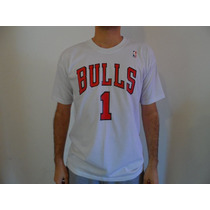Remera Estampada Nba Chicago Bulls Wade - Rose Butler Rondo