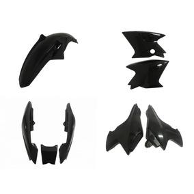 Kit Carenagem Plastico Ybr Factor 125 Preto K/k1/e 2013, 14