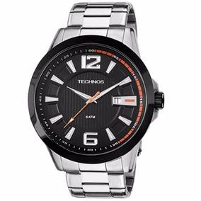 Relógio Technos Masculino Calendário 2115knv/1p Prova 50m/