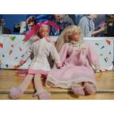 Lote De Barbies Cuerpo De Tela (vintage Y Raras) Mattel