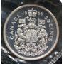 Canada 50 Centavos 1966 Plata Proof Elizabeth Ii