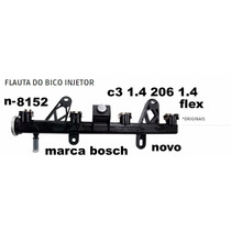 Flauta Bico Injetor Citroen C3, Peugeot 207 1.4 Original