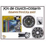 Kit Clutch Plato Disco Collarin Ford Fiesta/ka/ecosport 1.6