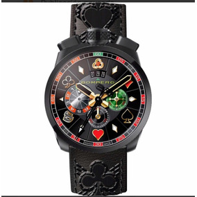 Reloj Bomberg Gambler Macao Edición Limitada A 888 Piezas