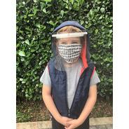 20x Máscara Infantil Face Shield Conforty