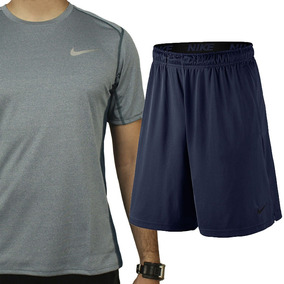 Kit Nike Academia Camiseta Tecn. Dry +short Masculino Oferta
