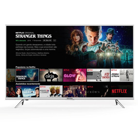 Smart Tv Led 4k Uhd Hdr 49 Semp Wi-fi Netflix Youtube K1us