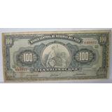 Billete Antiguo 100 Soles De Oro - 13 Marz 1964