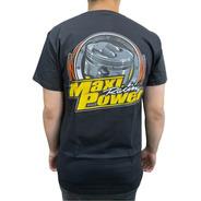 Camiseta Maxi Power Racing Preta