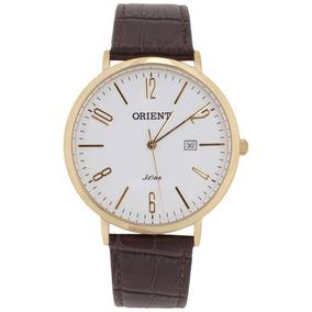 Relogio Pulseira De Couro Masculino Menor Preço Orient - Relógios De ... 05d481feea