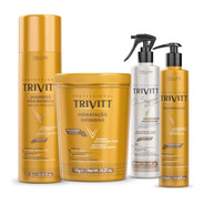 Kit Hidratação Trivitt Profissisional Itallian Reconstrução
