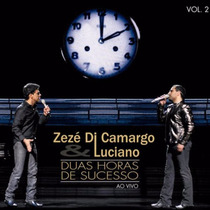 Cd Lacrado Zeze Di Camargo & Luciano Sucessos Ao Vivo Vol. 2
